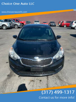 2014 Kia Forte for sale at Choice One Auto LLC in Beech Grove IN
