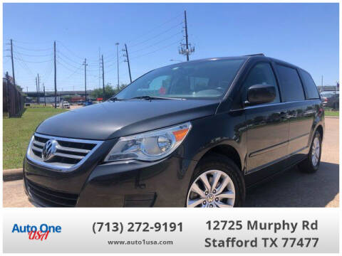 2012 Volkswagen Routan for sale at Auto One USA in Stafford TX