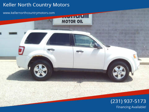 2012 Ford Escape for sale at Keller North Country Motors in Howard City MI