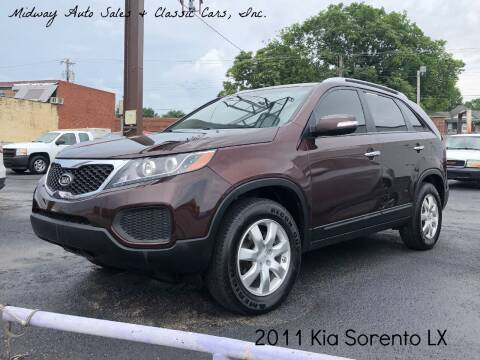 2011 Kia Sorento for sale at MIDWAY AUTO SALES & CLASSIC CARS INC in Fort Smith AR