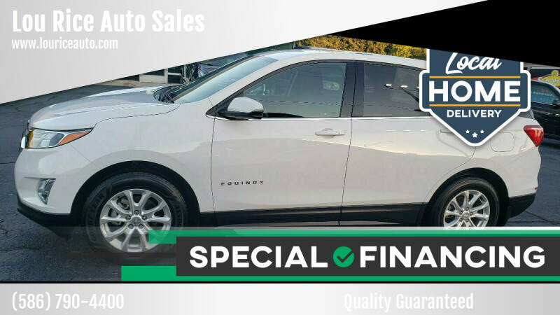 2018 Chevrolet Equinox for sale at Lou Rice Auto Sales in Clinton Township MI