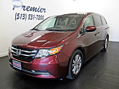 2015 Honda Odyssey for sale at Premier Automotive Group in Milford OH