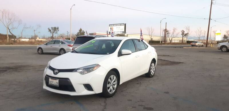 2016 Toyota Corolla for sale at Autosales Kingdom in Lancaster CA