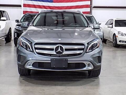 2015 Mercedes-Benz GLA for sale at Texas Motor Sport in Houston TX