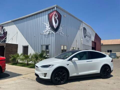 2019 Tesla Model X for sale at Barrett Auto Gallery in San Juan TX