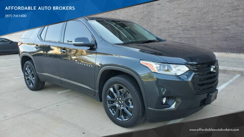 2021 Chevrolet Traverse for sale at AFFORDABLE AUTO BROKERS in Keller TX
