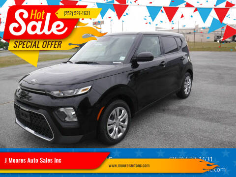 2020 Kia Soul for sale at J Moores Auto Sales Inc in Kinston NC