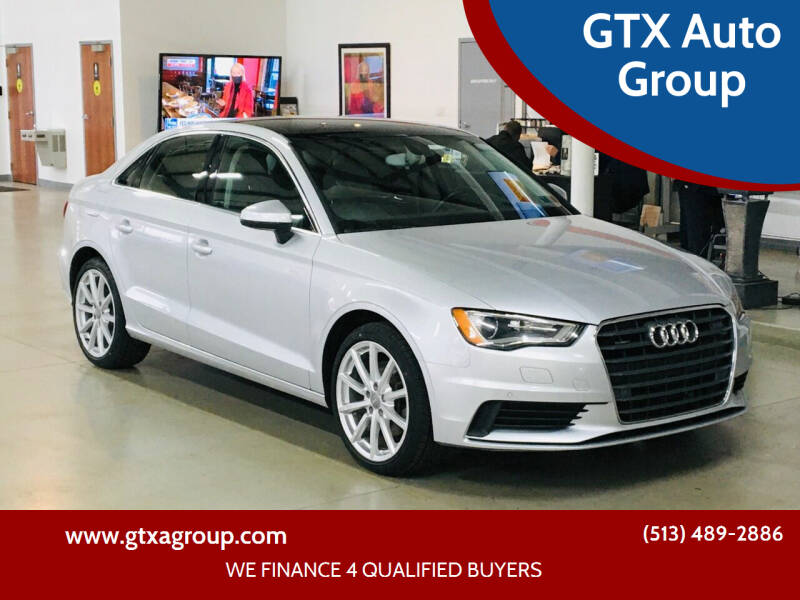2015 Audi A3 for sale at GTX Auto Group in West Chester OH