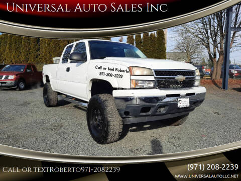 2007 Chevrolet Silverado 1500 Classic for sale at Universal Auto Sales Inc in Salem OR