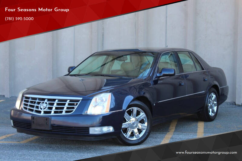 2007 Cadillac DTS for sale at Four Seasons Motor Group in Swampscott MA