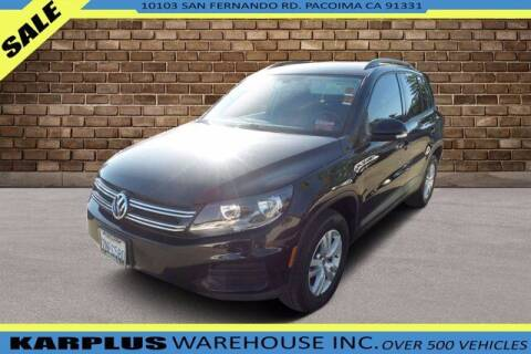 2016 Volkswagen Tiguan for sale at Karplus Warehouse in Pacoima CA