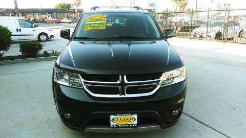 2012 Dodge Journey for sale at El Guero Auto Sale in Hawthorne CA