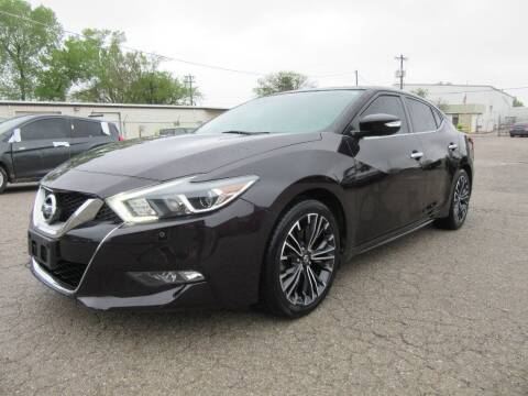 2016 Nissan Maxima for sale at Grays Used Cars in Oklahoma City OK