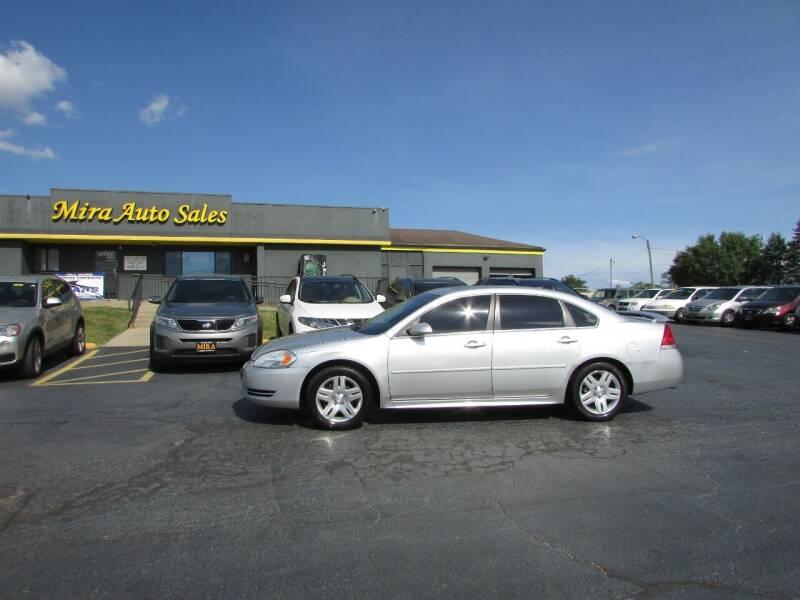 2012 Chevrolet Impala for sale at MIRA AUTO SALES in Cincinnati OH