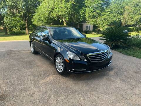 2013 Mercedes-Benz E-Class for sale at CARWIN MOTORS in Katy TX