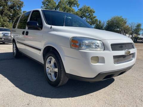 2007 Chevrolet Uplander for sale at Thornhill Motor Company in Lake Worth TX