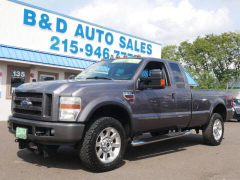 2008 Ford F-350 Super Duty for sale at B & D Auto Sales Inc. in Fairless Hills PA
