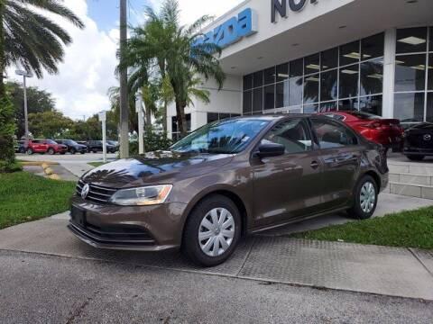 2016 Volkswagen Jetta for sale at Mazda of North Miami in Miami FL