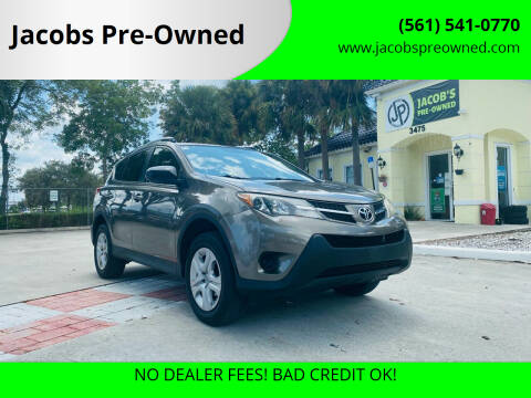 2013 Toyota RAV4 for sale at Jacobs Pre-Owned in Lake Worth FL