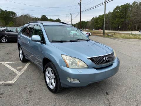 2006 Lexus RX 330 for sale at CVC AUTO SALES in Durham NC