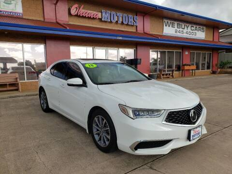 2018 Acura TLX for sale at Ohana Motors in Lihue HI