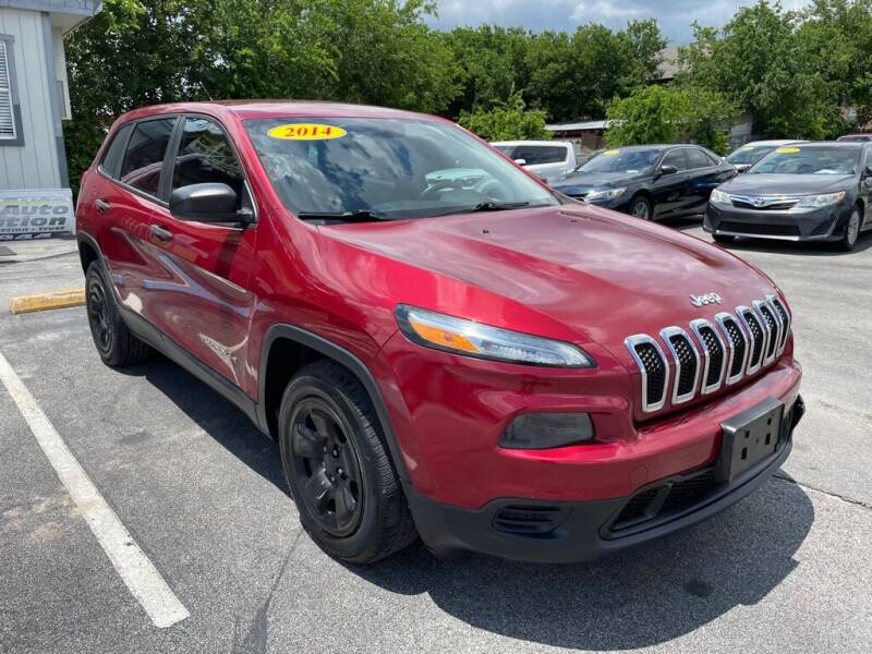 2014 Jeep Cherokee for sale at Auto Solution in San Antonio TX