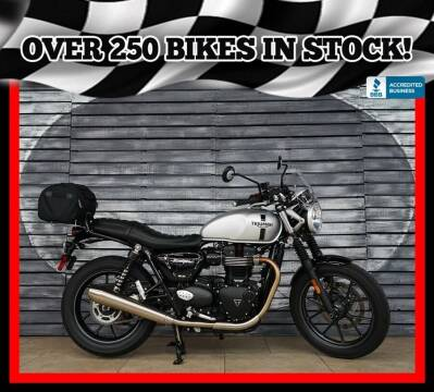 2018 Triumph Street Twin for sale at AZautorv.com in Mesa AZ