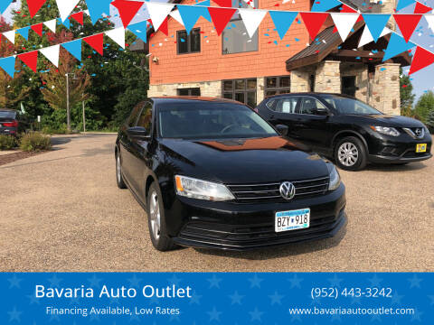 2016 Volkswagen Jetta for sale at Bavaria Auto Outlet in Victoria MN