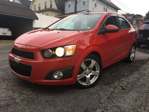2012 Chevrolet Sonic for sale at Keystone Auto Center LLC in Allentown PA