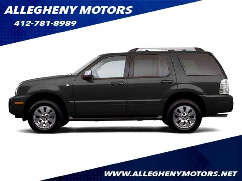 2006 Mercury Mountaineer for sale at Allegheny Motors in Pittsburgh PA