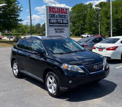 2012 Lexus RX 350 for sale at Reliable Cars & Trucks LLC in Raleigh NC