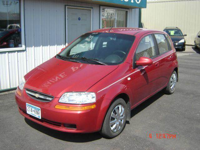 2006 Chevrolet Aveo for sale at Maine Prairie Auto INC in Saint Cloud MN