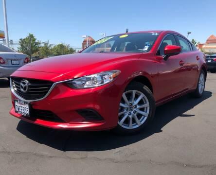 2017 Mazda MAZDA6 for sale at LUGO AUTO GROUP in Sacramento CA