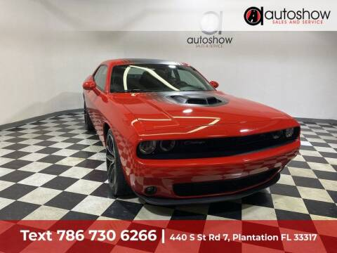 2018 Dodge Challenger for sale at AUTOSHOW SALES & SERVICE in Plantation FL