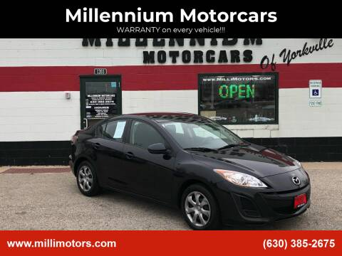 2010 Mazda MAZDA3 for sale at Millennium Motorcars in Yorkville IL