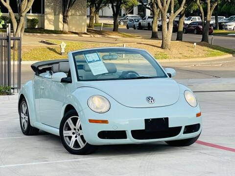 2006 Volkswagen New Beetle Convertible for sale at Texas Drive Auto in Dallas TX