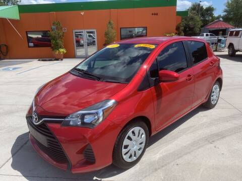 2017 Toyota Yaris for sale at Galaxy Auto Service, Inc. in Orlando FL