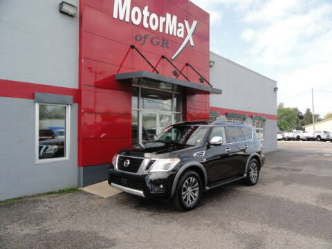 2017 Nissan Armada for sale at MotorMax of GR in Grandville MI