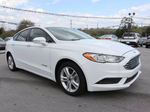 2018 Ford Fusion Hybrid for sale at Viles Automotive in Knoxville TN