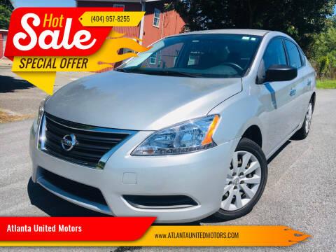 2014 Nissan Sentra for sale at Atlanta United Motors in Buford GA