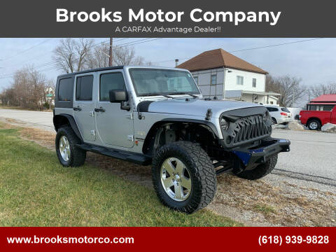 2010 Jeep Wrangler Unlimited for sale at Brooks Motor Company in Columbia IL