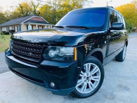 2012 Land Rover Range Rover for sale at E-Z Auto Finance in Marietta GA