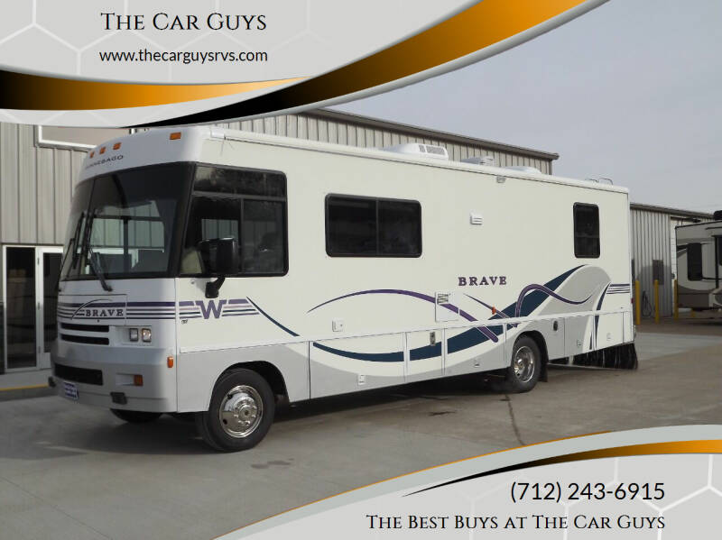 1998 Winnebago Brave for sale at The Car Guys in Atlantic IA