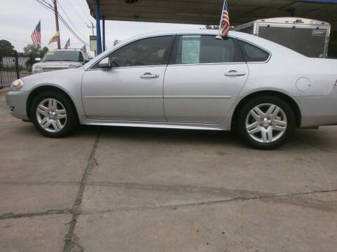 2012 Chevrolet Impala for sale at Under Priced Auto Sales in Houston TX
