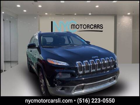 2018 Jeep Cherokee for sale at NYC Motorcars in Freeport NY