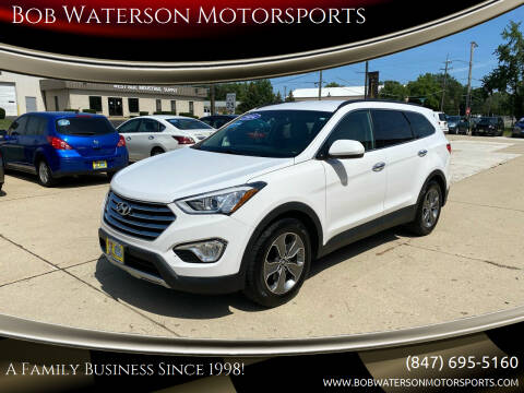 2014 Hyundai Santa Fe for sale at Bob Waterson Motorsports in South Elgin IL