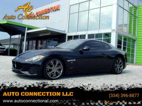 2018 Maserati GranTurismo for sale at AUTO CONNECTION LLC in Montgomery AL