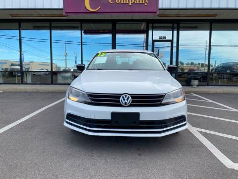 2015 Volkswagen Jetta for sale at DRIVEhereNOW.com in Greenville NC