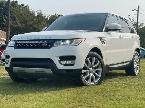 2014 Land Rover Range Rover Sport for sale at Texas Select Autos LLC in Mckinney TX