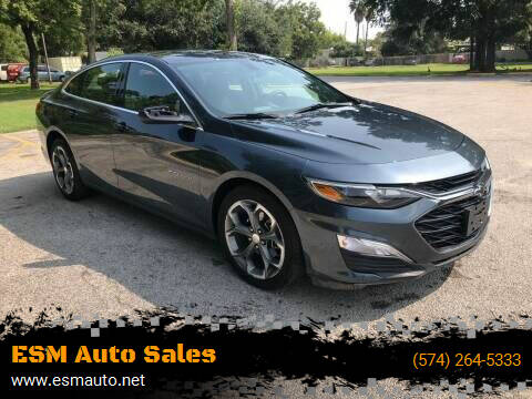 2019 Chevrolet Malibu for sale at ESM Auto Sales in Elkhart IN